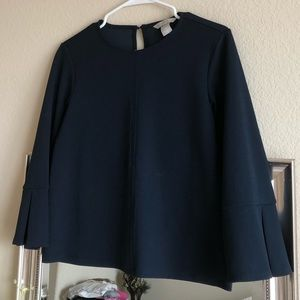 H&M Navy Top in XS